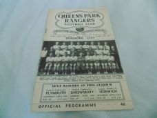 Queens Park Rangers v Bradford City, 1959/60